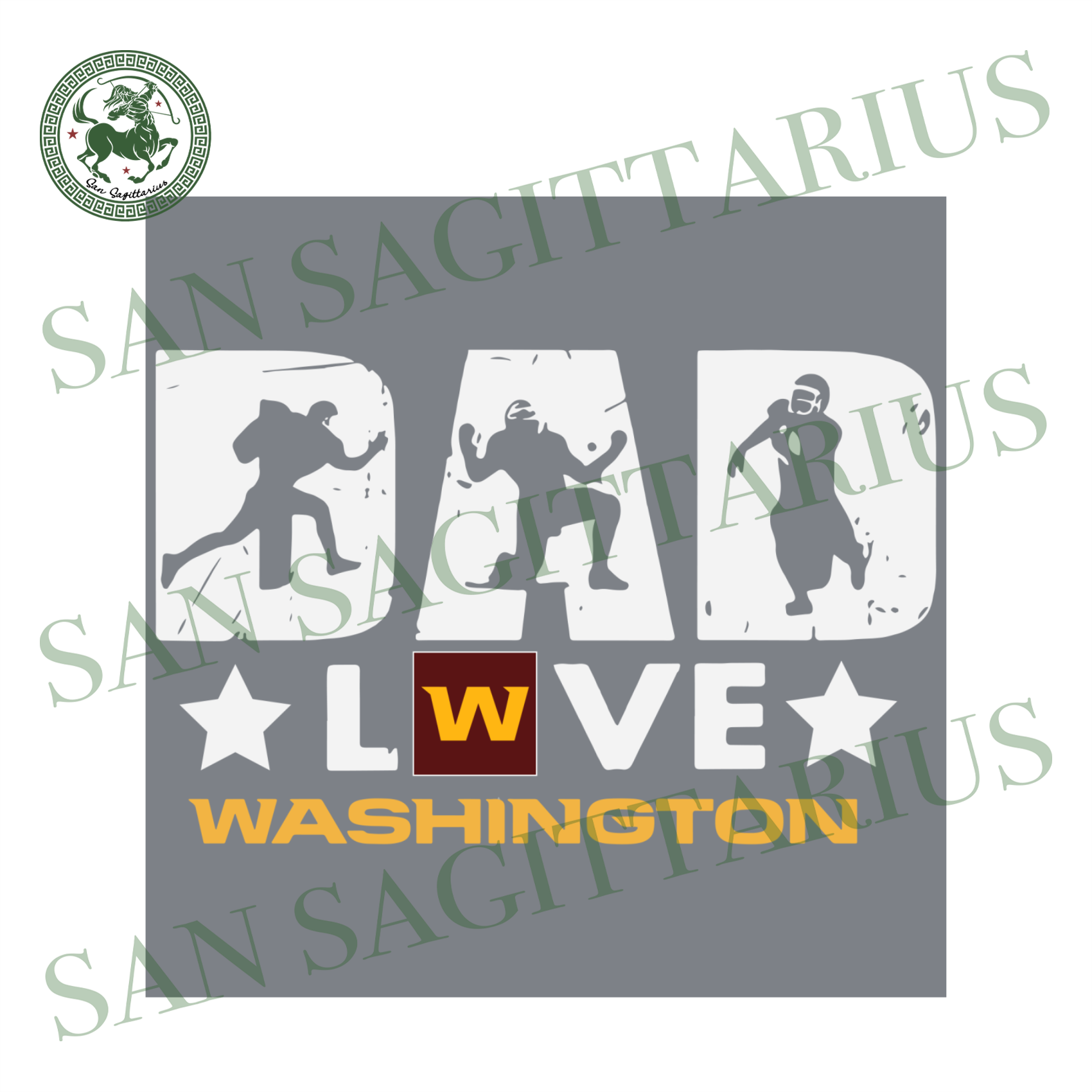 Dad Love Washington, Sport Svg, Father's Day, Washington Svg, Happy Father's Day, Washington Football, Dad Shirts, Dad Lover, Washington Shirt, Washington Football, Nfl Fabric, Dad Gifts, Foo