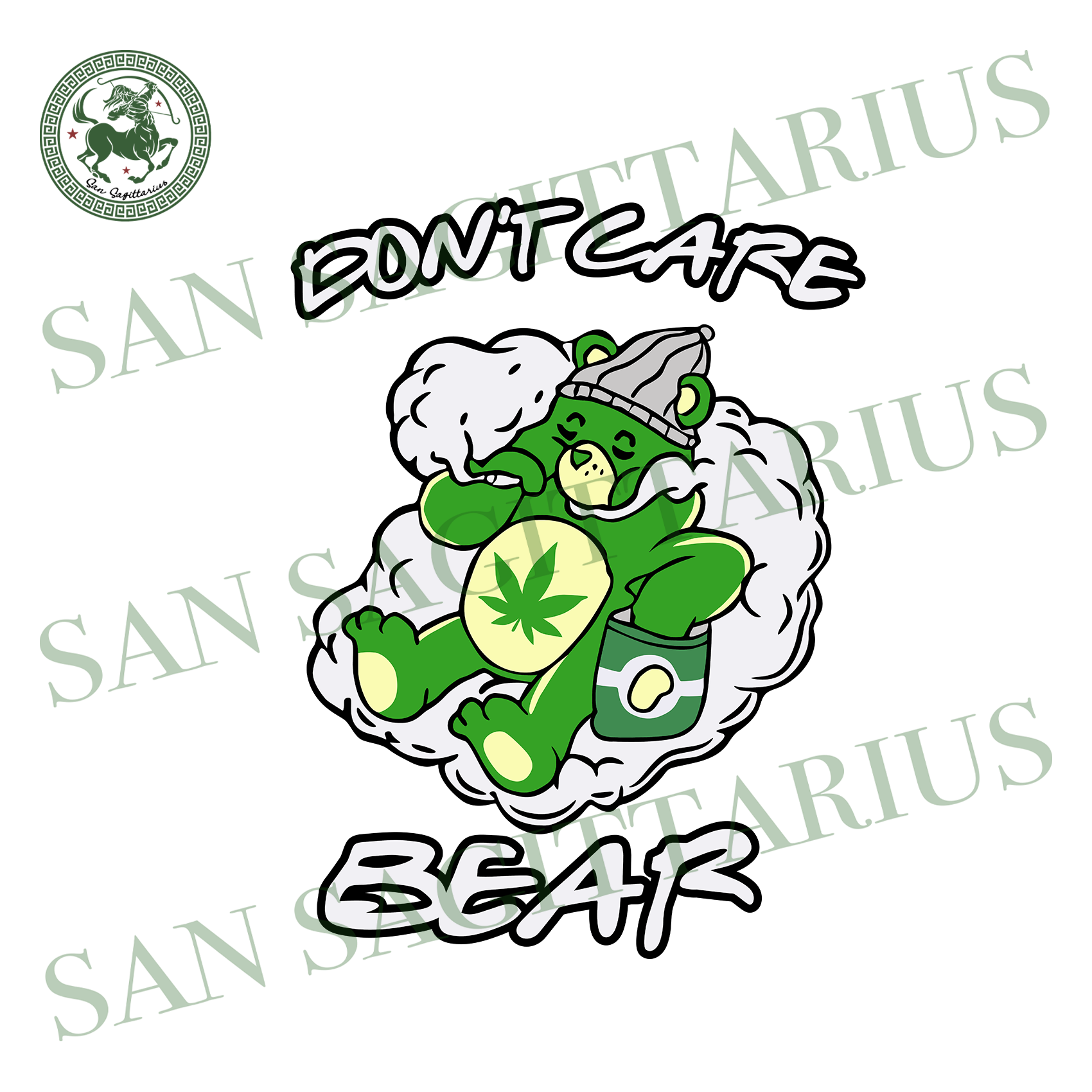 Dont care bear svg,svg,cannabis svg,cannabis lover svg,weed svg,love weed svg,birthday gift svg,svg cricut, silhouette svg files, cricut svg, silhouette svg, svg designs, vinyl svg
