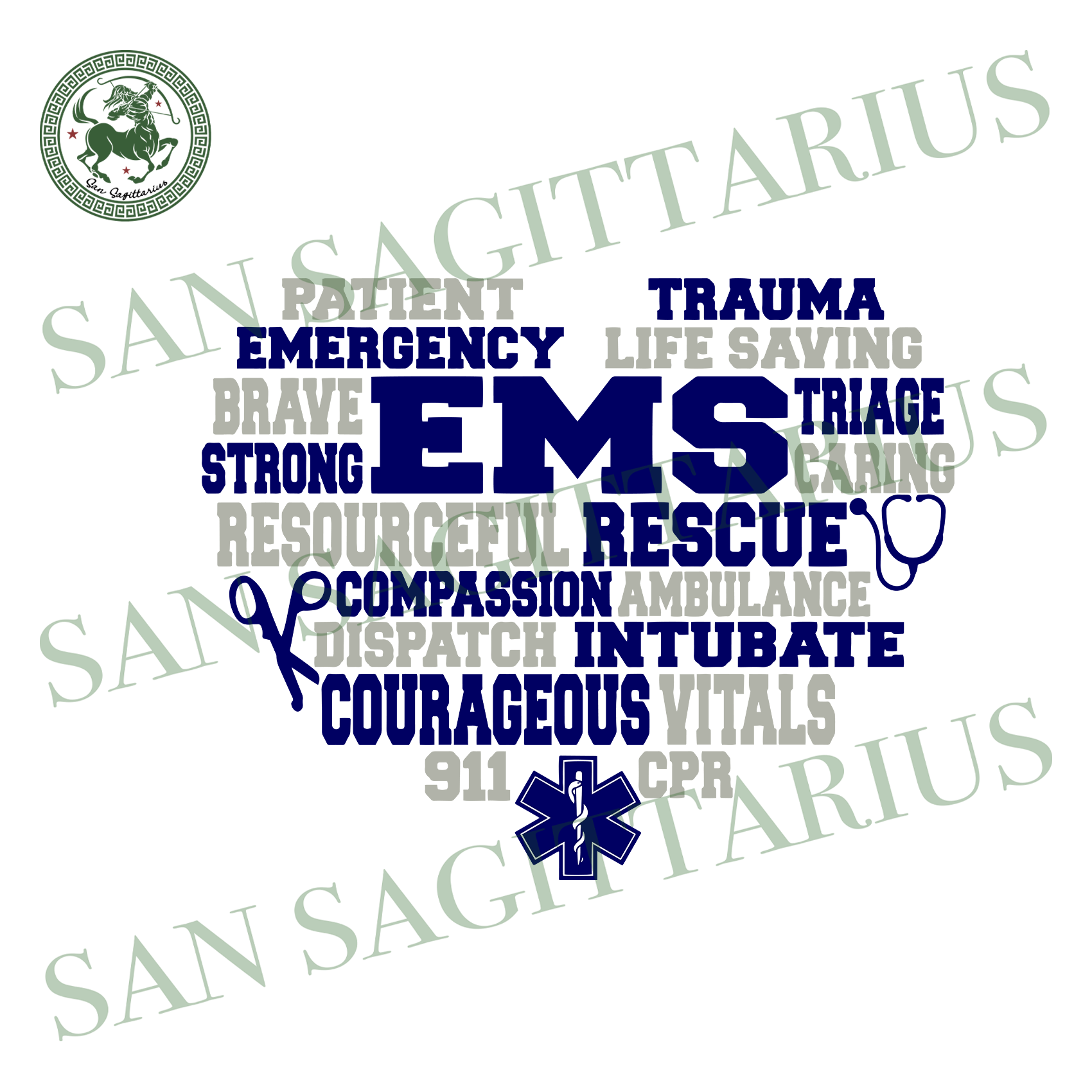 EMS rescue svg,svg,emergency svg,trauma svg,courageous svg,strong svg,triage svg,svg cricut, silhouette svg files, cricut svg, silhouette svg, svg designs, vinyl svg