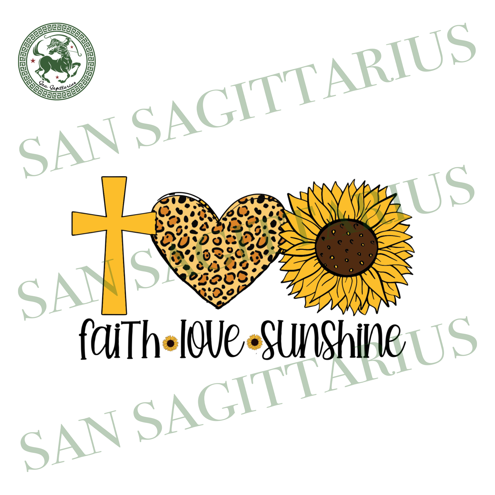 Faith love sunshine, Jesus lover, Christian gift svg, Christian shirt svg, Sunflower svg, Jesus svg, life quote svg, Sunflower lover, Sunflower vector, Inspirational quotes svg, Inspiration,