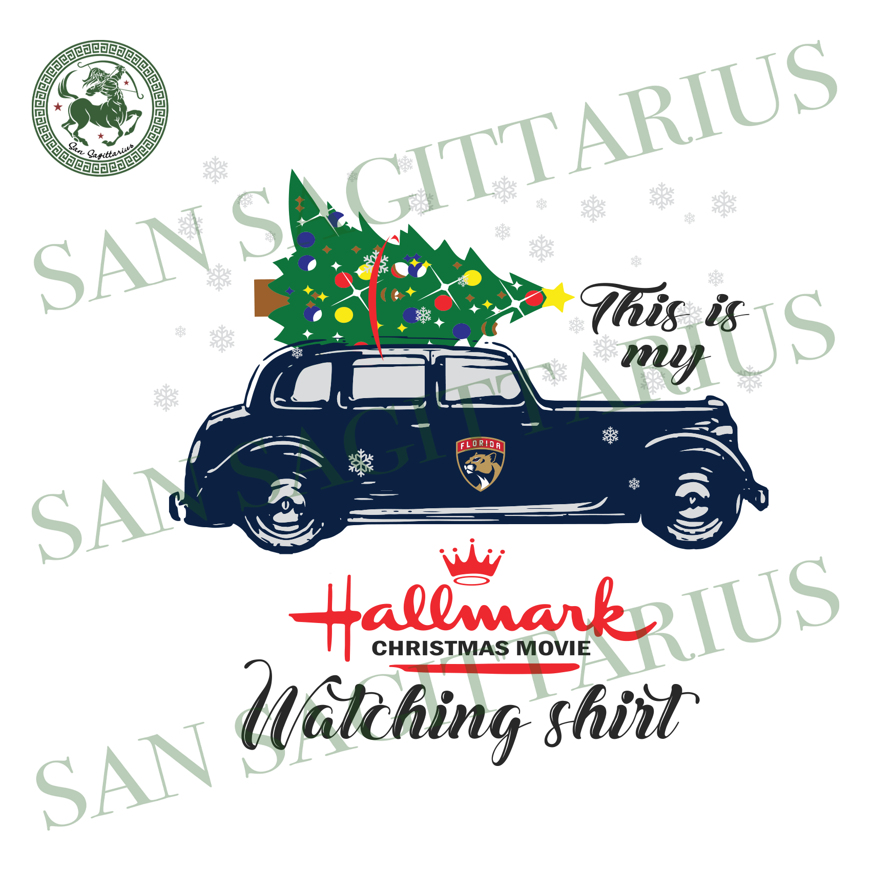 Florida Panthers This Is My Hallmark Christmas Movie Watching Shirt, Sport Svg, Christmas Svg, Florida Panthers Svg, NHL Sport Svg, Florida Panthers NHL Svg, Florida Panthers NHL Gift, Hockey