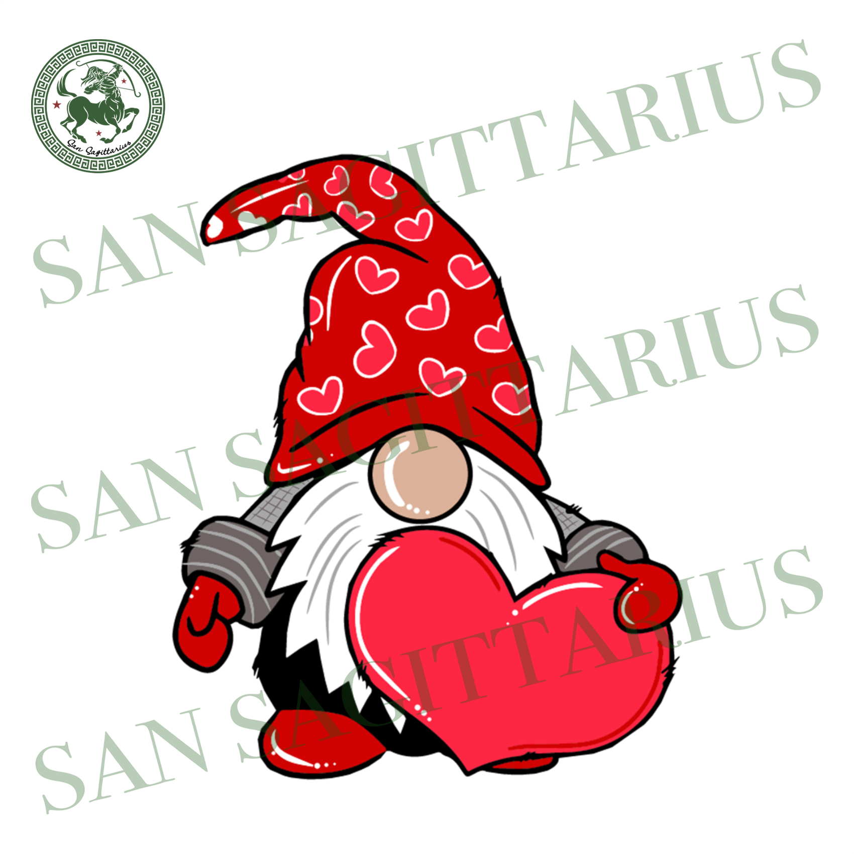 Gnome With Heart Svg, Gnome Lover, Gnome Heart Clip art, Valentine Gnome Svg, Boy Gnome, Love Gnomes, Gnome Valentine, Cute Gnome, Valentines Shirt Design, Lover Gift, Heart Svg, Couple Shirt