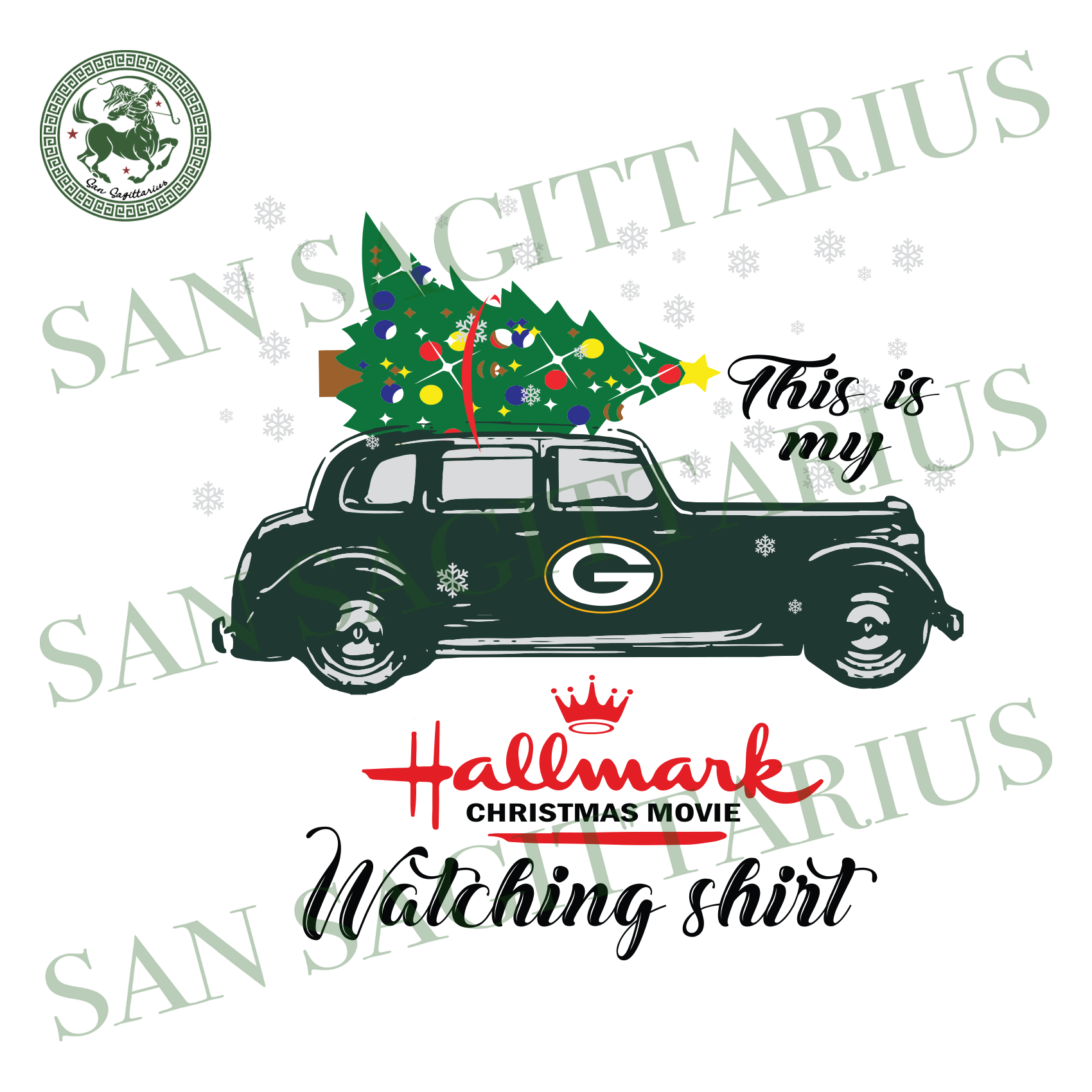 Green Bay Packers This Is My Hallmark Christmas Movie Watching Shirt, Sport Svg, Christmas Svg, Green Bay Packers Svg, NFL Sport Svg, Green Bay Packers NFL Svg, Green Bay Packers NFL Gift, Fo
