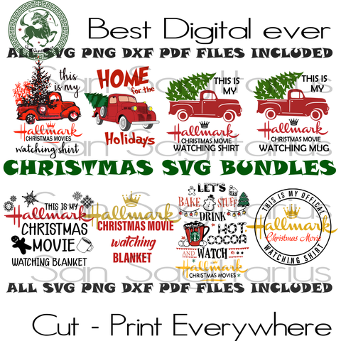 Christmas Svg bundle, hallmark svg, hallmark gift, hallmark movies, movie watching,  hallmark saying, thanksgiving, thanksgiving svg, hallmark christmas, christmas movies, merry christmas, ch