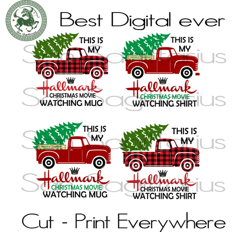 This Is My Hallmark Bundle, Christmas SVG, Hallmark Christmas, Car Christmas, Hallmark Svg, Hallmark Christmas Shirt, Car Bundle, Christmas Gifts, Merry Christmas, Christmas Holiday, Christma