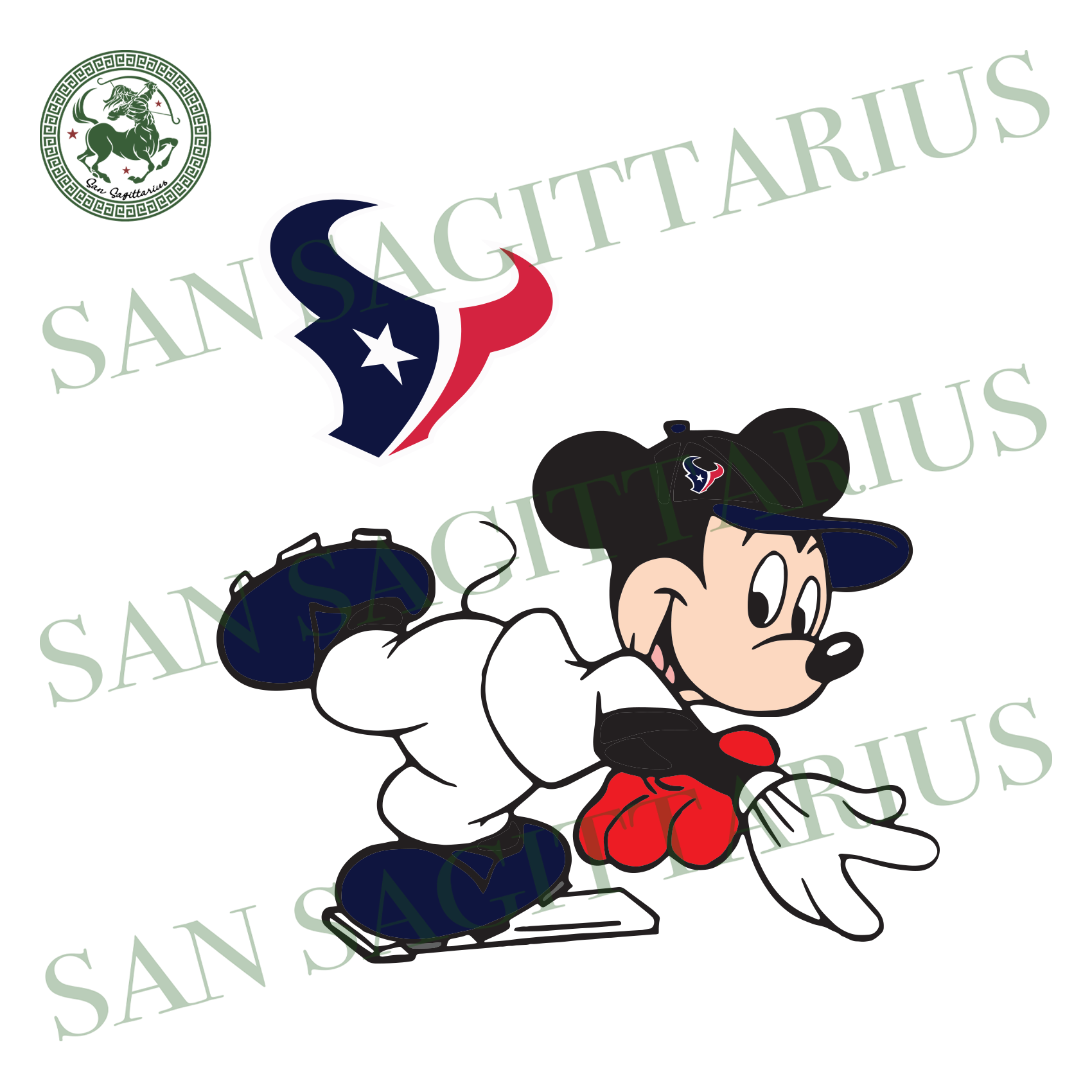 Houston Texans Logo And Mickey, Sport Svg, NFL Football Svg, NFL Svg, NFL Sport, Houston Texans Svg, Houston Texans Logo, Houston Texans NFL Lover, Houston Texans NFL Svg, Football Svg