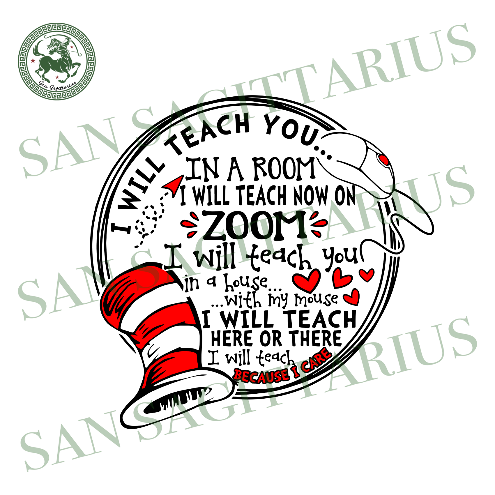 I will teach you in a room svg,svg,i will teach you svg,here on there svg,Dr Seuss teacher svg,svg cricut, silhouette svg files, cricut svg, silhouette svg, svg designs, vinyl svg