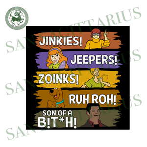 Jinkies svg,jeepers svg,zoinks svg,svg cricut, silhouette svg files, cricut svg, silhouette svg, svg designs, vinyl svg