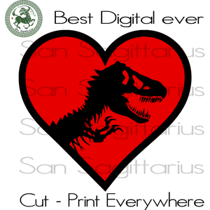 Jurassic Park Movie Lover Birthday Best Gifts For Kids SVG Files For Cricut Silhouette Instant Download | San Sagittarius