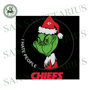 Kansas City Chiefs Logo With Grinch, Sport Svg, NFL Football Svg, NFL Svg, NFL Sport, Kansas City Chiefs Svg, Kansas City Chiefs, Kansas City Chiefs NFL Lover, Kansas City Chiefs NFL Svg
