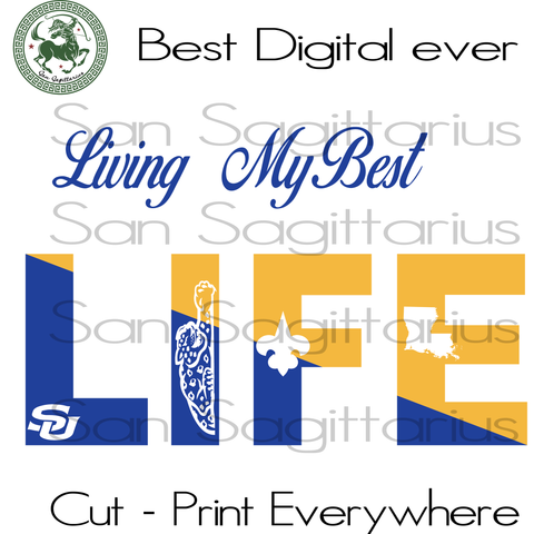 Living My Best Life, I Love Hbcu, Southern University Hbcu, Southern University, Southern University, African American Svg, Melanin Svg, Hbcu Grad, Hbcu Graduation Svg Files For Cricut Silhouette Instant Download | San Sagittarius