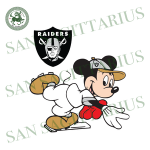 Las Vegas Raiders Logo With Mickey, Sport Svg, NFL Football Svg, NFL Svg, NFL Sport, Las Vegas Raiders Svg, Las Vegas Raiders NFL Svg, Las Vegas Raiders Lover, Football Svg, Football Lover, M