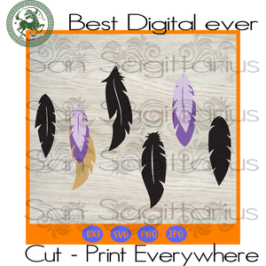 Leather Earrings Vector SVG Files For Cricut Silhouette Instant Download | San Sagittarius