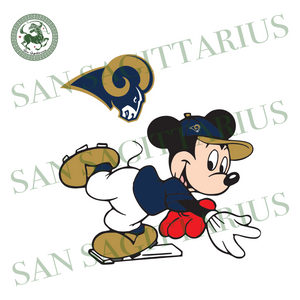 Los Angeles Rams Logo And Mickey, Sport Svg, NFL Football Svg, NFL Svg, NFL Sport, Los Angeles Rams Svg, Los Angeles Rams Logo, Los Angeles Rams NFL Lover, LA Rams NFL Svg, Football Svg