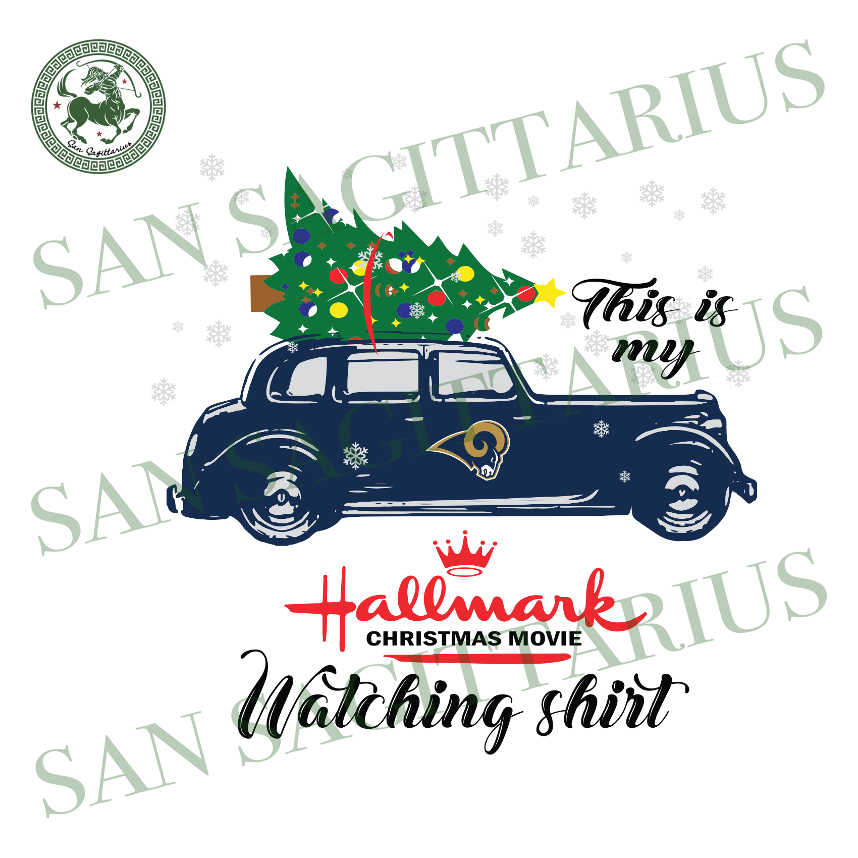 Los Angeles Rams This Is My Hallmark Christmas Movie Watching Shirt, Sport Svg, Christmas Svg, Los Angeles Rams Svg, NFL Sport Svg, Los Angeles Rams NFL Svg, Los Angeles Rams NFL Gift, Footba