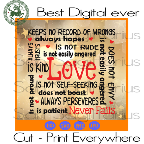 Valentine Gift Love Quote Saying SVG Files For Cricut Silhouette Instant Download | San Sagittarius