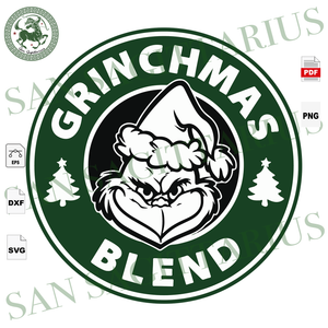 Grinchmas Blend, The Grinch Svg, Christmas Svg, Christmas Grinch Svg, The Grinch, Grinch Svg, The Grinch Lover Svg, Grinch Cut File, Grinch Christmas, Grinch Lover Svg, Christmas Gift, Christ