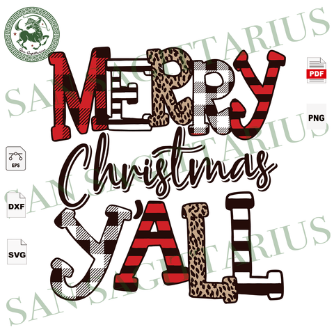 Merry Christmas Yall, Christmas Svg, Christmas Gifts, Reindeer Svg, Christmas Holiday, Christmas Party, Funny Christmas, Christmas Tree,  Merry Christmas, Xmas Gift, Christmas Gift Ideas, Mer