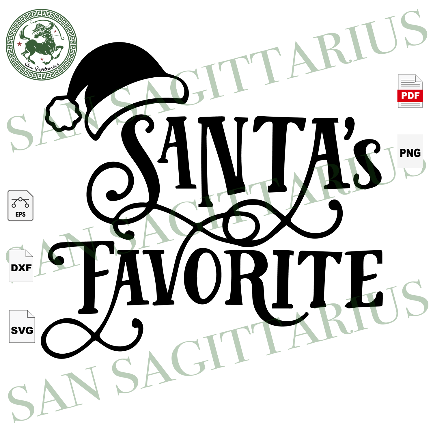 Santa's Favorite, Christmas Svg, Santa Svg, Santa Clause, Santa Clause Shirts, Christmas Gifts, Merry Christmas, Christmas Holiday, Christmas Party, Funny Christmas, Xmas Gift, Christmas Gift