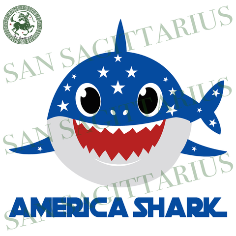 America shark svg, Independence Day Svg, 4th Of July, Patriotic Svg, Shark doo doo, Birthday dad Gift, shark Doo Doo, father Birthday svg, gift for dad svg, Birthday dad SVG Files For Cricut