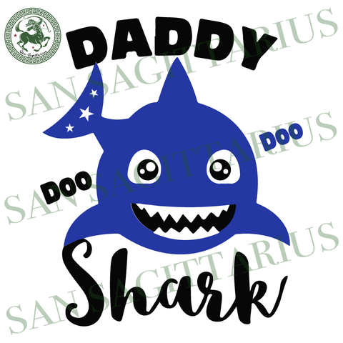 Daddy Shark doo doo, daddy Birthday, Birthday dad Gift, shark Doo Doo, father Birthday svg, papa Birthday shirt, gift for dad svg, Birthday dad SVG Files For Cricut Silhouette Instant Downloa