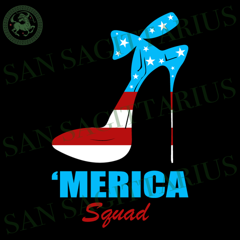 Merica squad, high heels svg, Independence Day Svg, high heels vector, Happy birthday America, America Flag vector, Happy Independence Day, 4th July Sublimation files, Svg Files For Cricut, H