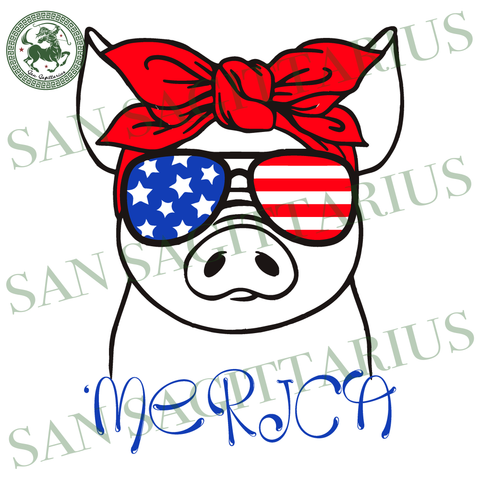 Pig Mom Svg, Independence Day Svg, 4th Of July, Happy birthday America Svg, America Flag, Pig vector, Pig vector clipart, Happy Independence Day, 4th July Sublimation files, Svg Files For Cri