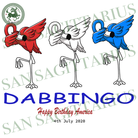 Dabbingo svg, Flamingo svg, Independence Day Svg, Flamingo vector, Happy birthday America, America Flag vector, Happy Independence Day, 4th July Sublimation files, Svg Files For Cricut, HTV,