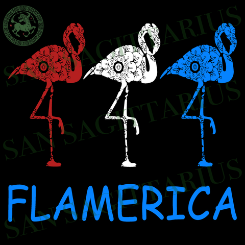 Flamerica svg, Flamingo svg, Independence Day Svg, Flamingo vector, Happy birthday America, America Flag vector, Happy Independence Day, 4th July Sublimation files, Svg Files For Cricut, HTV,