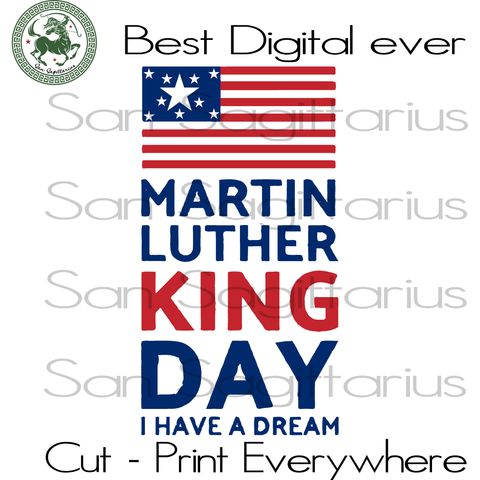 Martin Luther King Day, USA Flag SVG, black lives matter, black history svg, Martin Luther King Day SVG, Martin Luther King SVG Files For Cricut Silhouette Instant Download | San Sagittarius