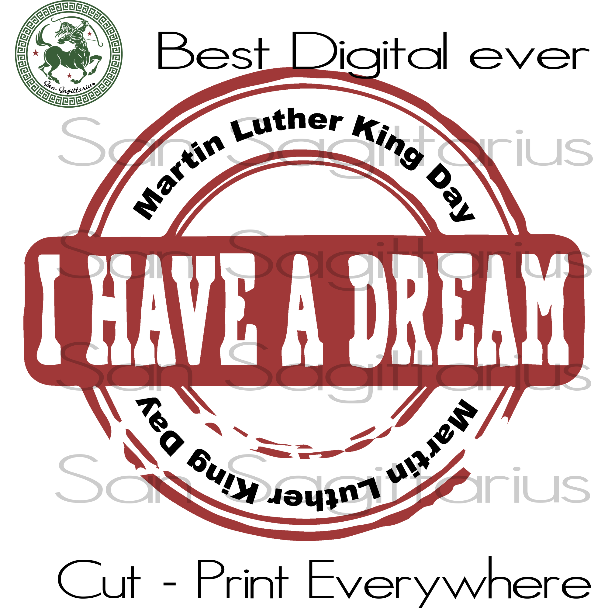 Martin Luther King Day, Martin Luther King  Stamp SVG, Martin Luther King Day, black lives matter, black history SVG, Martin Luther King SVG Files For Cricut Silhouette Instant Download | San