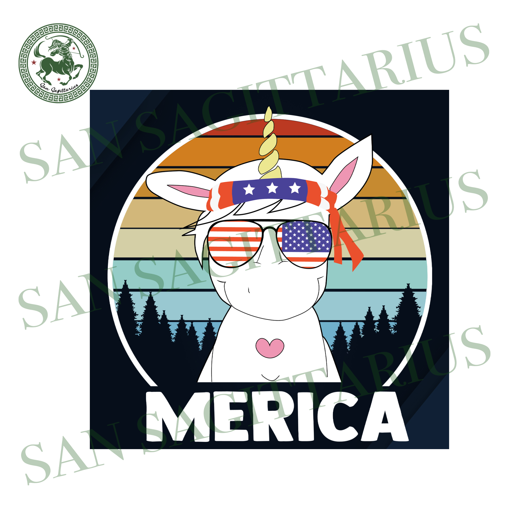 Merica Svg, Trending Svg, Independence Day Svg, Unicorn Svg, 4th Of July, Unicorn Cute, America Svg, America, American Flag, Independence Day, Patriotic Svg, Independence Gift, Independent Gi