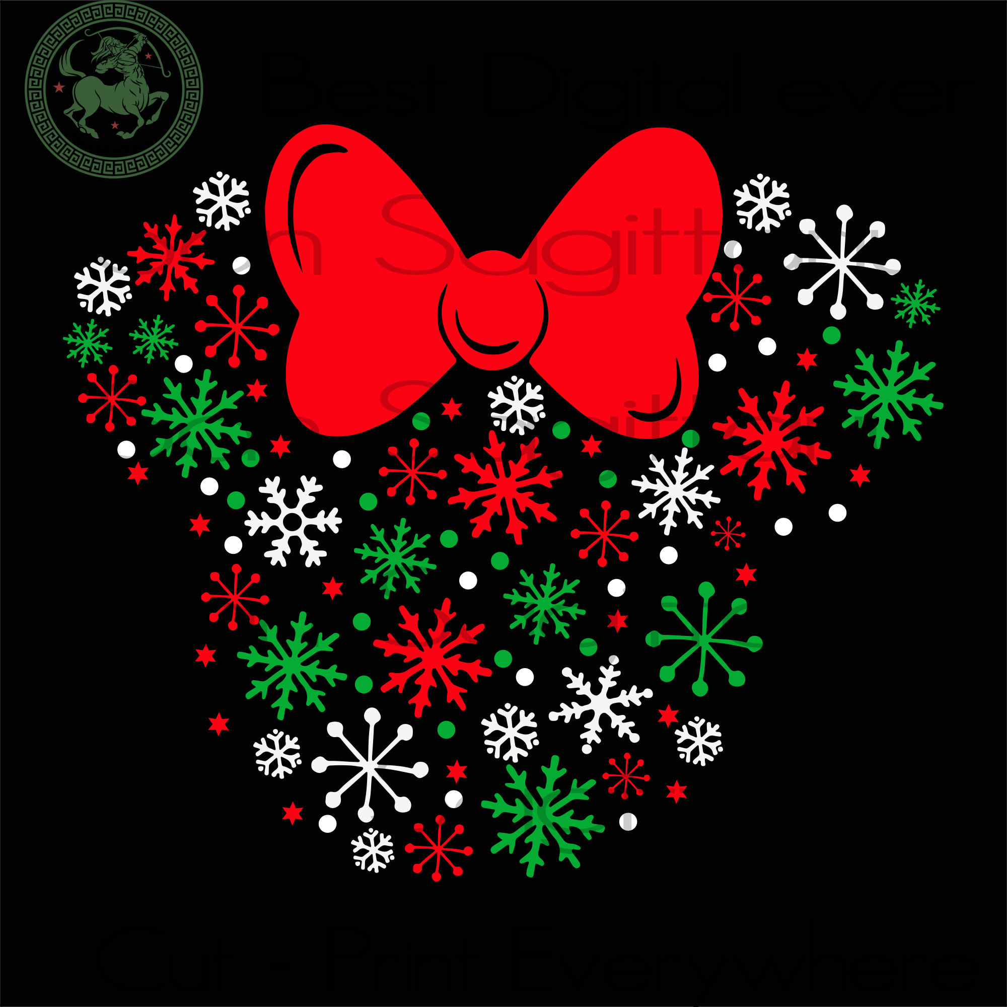 Disney Minnie Mouse Holiday Snowflakes, Christmas Svg, Minnie Mouse Svg, Christmas Gift, Minnie Mouse Gift, Christmas Tree, Christmas Decor, Minnie Mouse Shirt, Disney Svg, Christmas Minnie M