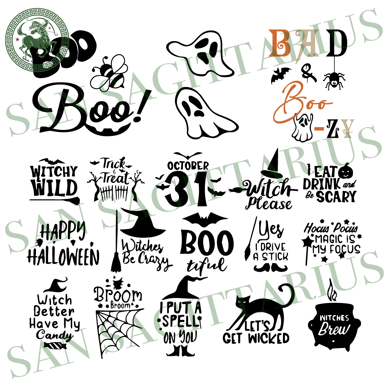 Boo Bundle, Halloween Svg, Bundle Svg, Boo Svg, Bee Svg, Boo Bee Svg, Pumpkin Svg, Witch Svg, Witch Hat, Pattern Svg, Happy Halloween, Halloween Shirt, Halloween Gift Boo Shirt, Pumpkin Shirt