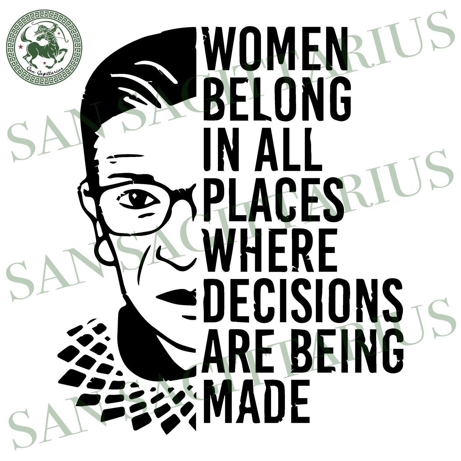 Women Belong In All Places Where Decisions Are Being Made, Trending, Ruth Bader Ginsburg, Judge, Ruth Bader Ginsburg Shirts, Low Price, Ruth Bader Ginsburg Gifts, Ferminist Shirts, Ruth Bader