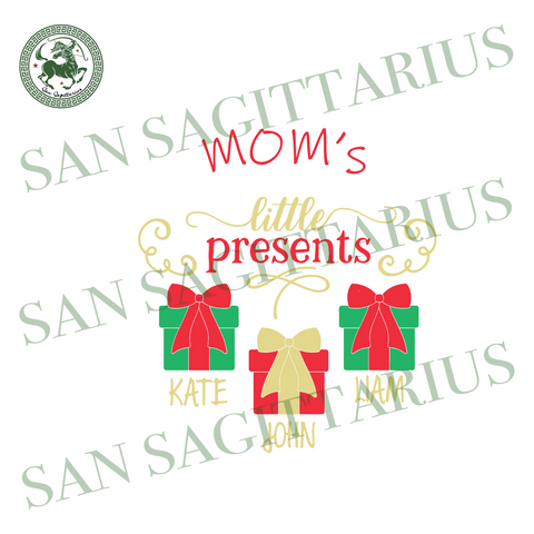 Moms Little Present, Christmas Svg, Present Svg, Christmas Present Svg, Mom Svg, Mom Present Svg, Mom Life Svg, Christmas Gifts, Merry Christmas, Christmas Holiday, Christmas Party, Funny Chr