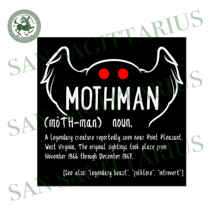 Mothman Definition Svg,Mothman Shirt,Mothman Definition Shirt,Mothman Svg,Legendary Creature Svg,Legendary Breast Svg,Mothman Gift
