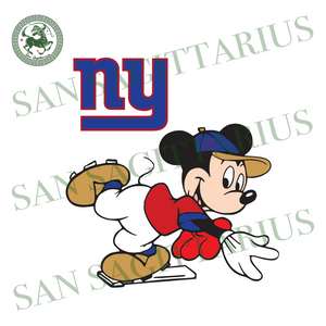 New York Giants Logo And Mickey, Sport Svg, NFL Football Svg, NFL Svg, NFL Sport, New York Giants Svg, New York Giants, NY Giants NFL Lover, NY Giants NFL Svg, Football Svg