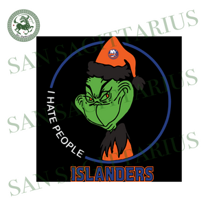 New York Islanders Logo, Sport Svg, New York Islanders Svg, NHL Svg, NHL Logo, Grinch Svg, New York Islanders Hockey, NHL Sport, Hockey Logo, Funny Grinch, Grinch Lovers, Grinch Gift, Green G