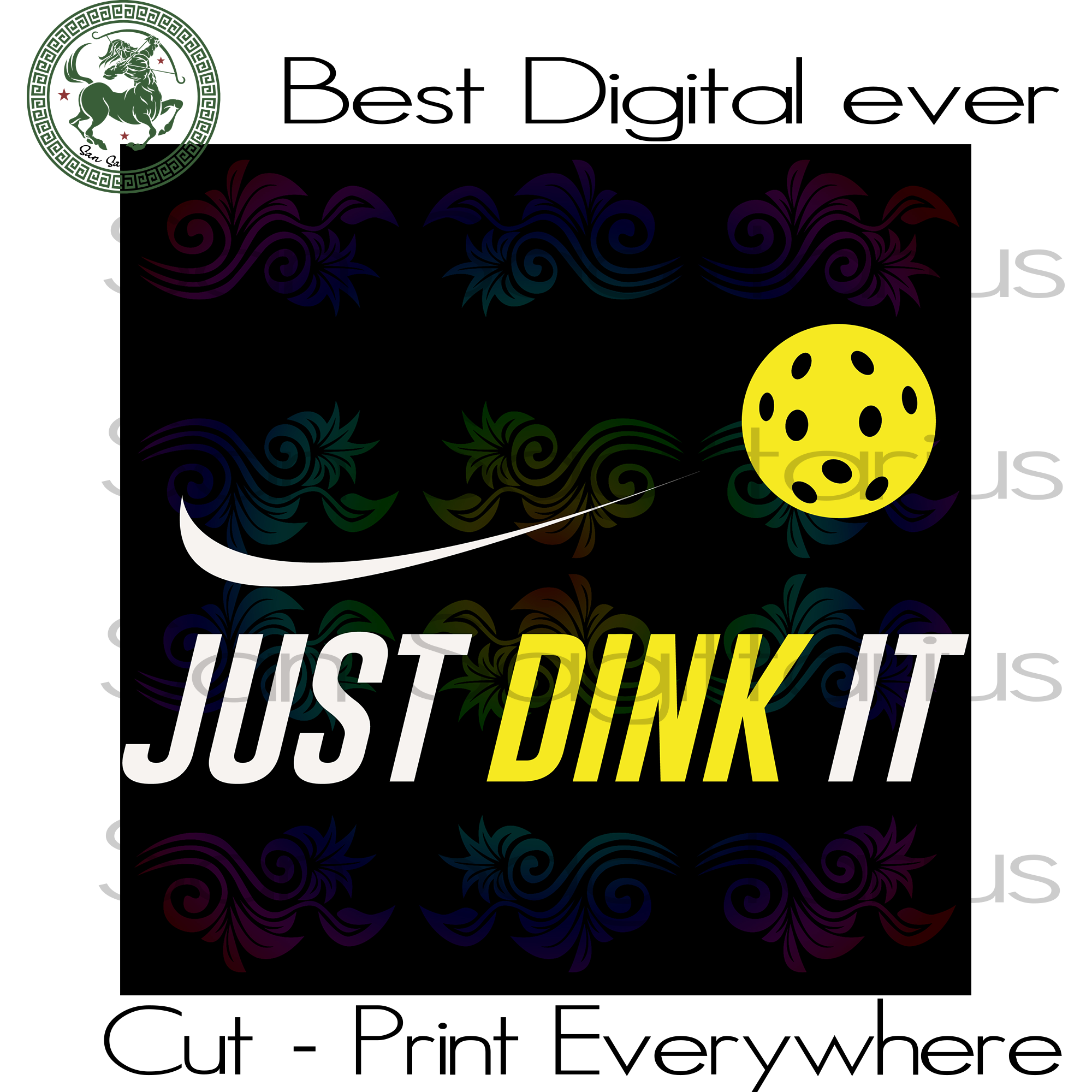 Nike Branch Just Drink it Funny Drinking, Nike Logo, Nike Shirt, Nike SVG Files For Cricut Silhouette Instant Download | San Sagittarius