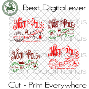 North Pole, Merry Christmas, Xmas Gift, Christmas Gift Ideas, Merry Christmas Svg, Holidays, Xmas Gift, Christmas Gift Ideas, Merry Christmas Svg, Fur Tree Svg, Santa Svg, Santa Clause, Reind