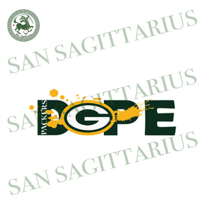 Packers Dope Svg, Packers Svg, Packers Logo Design, Football League Svg, Packers Football Svg, Nfl Football Svg, Packers Fans Svg, Nfl Gifts Svg, Football Mom Svg, Packer Lover Svg, Football