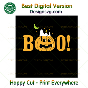 Peanuts Halloween Boo Pumpkin ,Halloween png, Halloween shirt, Halloween Decor, Halloween Party, Halloween Design, Halloween Sublimation, Halloween Silhouette Files