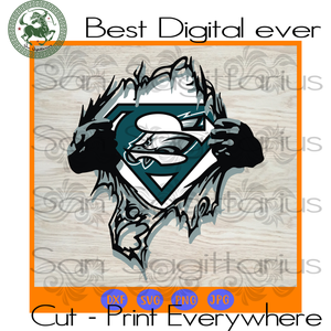 Oklahoma Sooners NFL Logo Superman SVG Files For Cricut Silhouette Instant Download | San Sagittarius