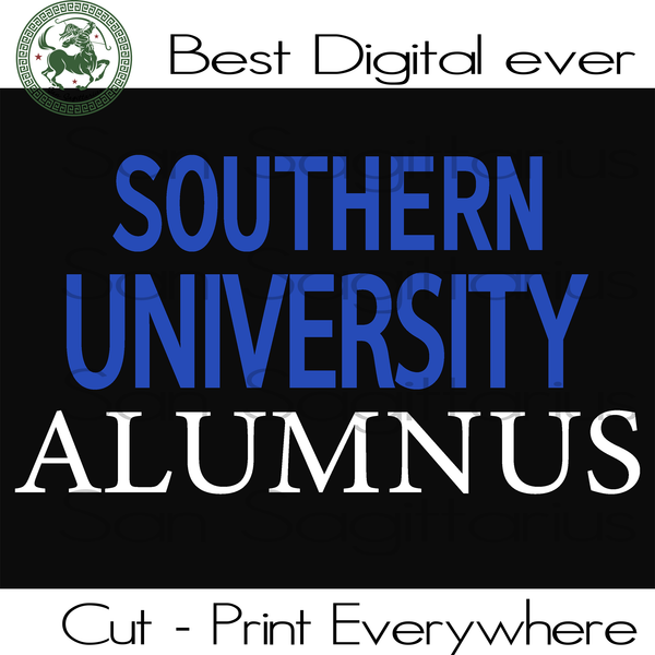 Sport Football Cut Files, HBCU SVG, NFL Football Saints Cricut, SU Jaguars Logo SVG Files For Cricut Silhouette Instant Download | San Sagittarius