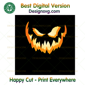 Scary Halloween Jack-O-Lantern ,Halloween png, Halloween shirt, Halloween Decor, Halloween Party, Halloween Design, Halloween Sublimation, Halloween Silhouette Files