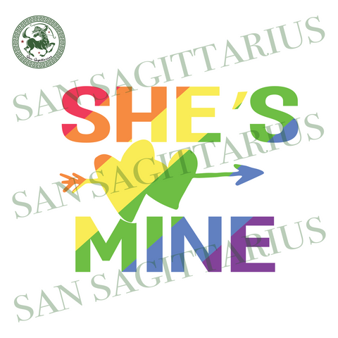 She Is Mine, Trending Svg, Lgbt Svg, Lgbt Shirt, I Am Gay, Love Lgbt, Pride Svg, Lesbian Gift, Lgbt Shirt, Gay Pride, Pride Month, Bisexual, Equal Right, Rainbow, Gift For Lgbt, Equality Svg,