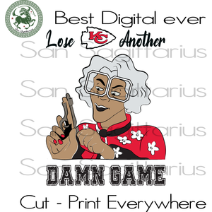 Madea Kansas City Chiefs logo SVG Files For Silhouette, Cricut Files, SVG DXF EPS PNG Instant Download
