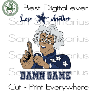 Madea Dallas Cowboys another dame game, Dallas Cowboys Nfl Football Logo Svg, Dallas Cowboys Football, Dallas Cowboys Shirt, Football Mom, Football Lover Gift, Nfl Svg, Football Svg File, Foo