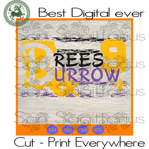 Brees Burrow number 9 SVG Files For Cricut Silhouette Instant Download | San Sagittarius